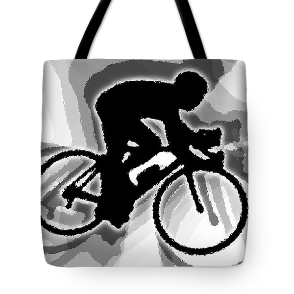 Bike Tote Bag by Stephen Younts