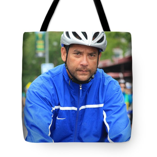 Bike Tour1 Tote Bag by Terry Wallace