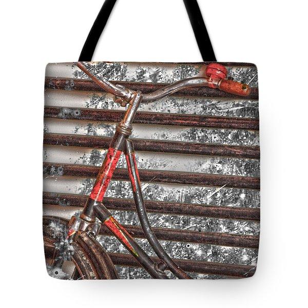Bikelock Tote Bag by Jerry Cordeiro