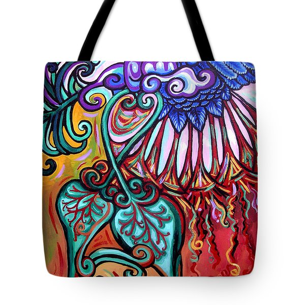 Bird Heart I Tote Bag by Genevieve Esson