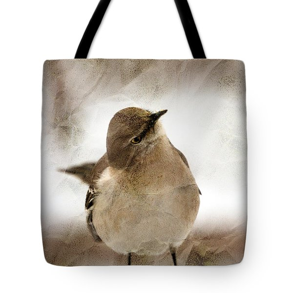 Bird In A Bag Tote Bag by Skip Willits