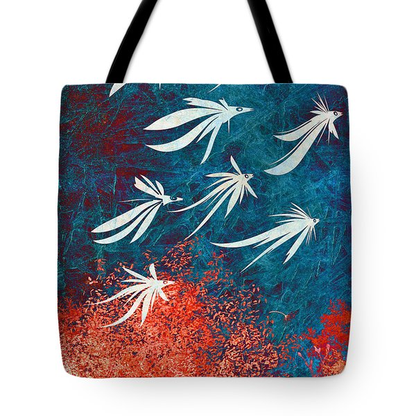 Birdeeze -v04 Tote Bag by Variance Collections