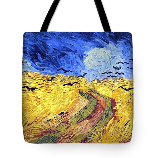 Birds And Lands Tote Bag by Sumit Mehndiratta