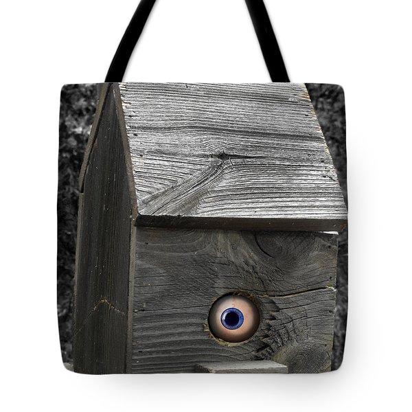 Birds Eye View Tote Bag by Kristie  Bonnewell