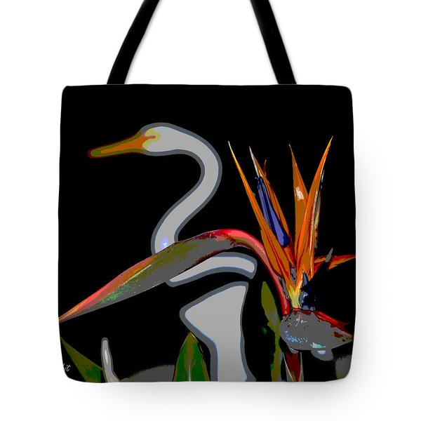 Birds In My Paradise... Tote Bag