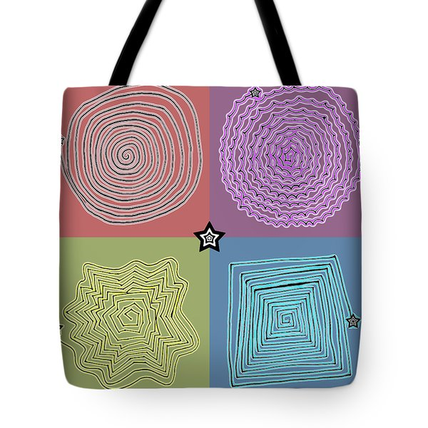 Birth Of A Star Tote Bag by Sumit Mehndiratta