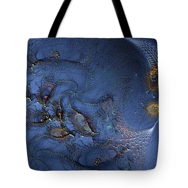 Tote Bag featuring the digital art Birth Of The Cool by Casey Kotas