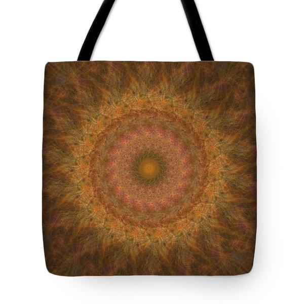 Birthing Mandala 18 Tote Bag by Rhonda Barrett