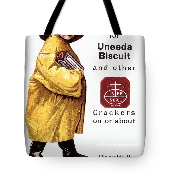 Biscuit & Cracker Ad Tote Bag