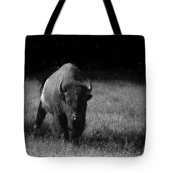 Bison Tote Bag by Ralf Kaiser