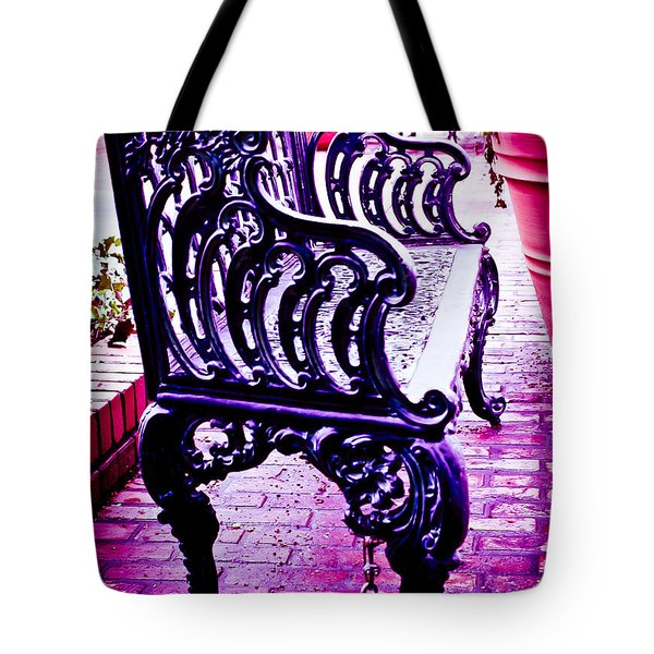Bistro Beauty Tote Bag by Theresa Johnson