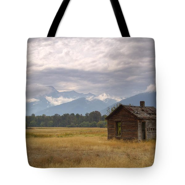 Bitterroot Homestead Tote Bag by Idaho Scenic Images Linda Lantzy