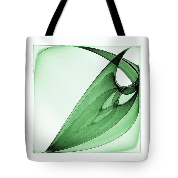 Bizarre Leaf Tote Bag by Klara Acel