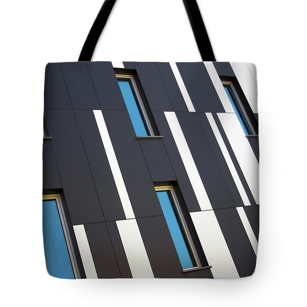 Black And White Tote Bag by Carlos Caetano
