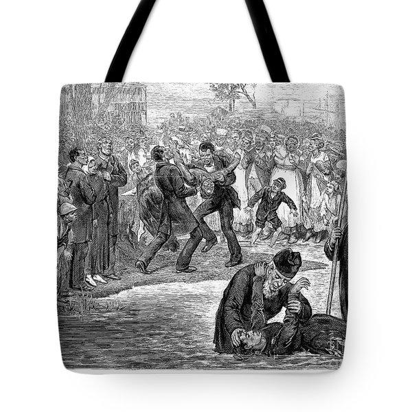 Black Baptism, 1887 Tote Bag by Granger