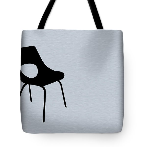 Black Chair Tote Bag by Naxart Studio