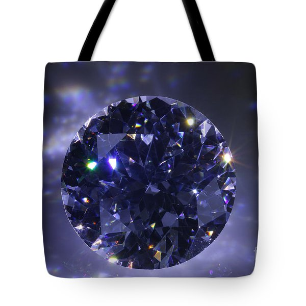 Black Diamond Tote Bag by Atiketta Sangasaeng