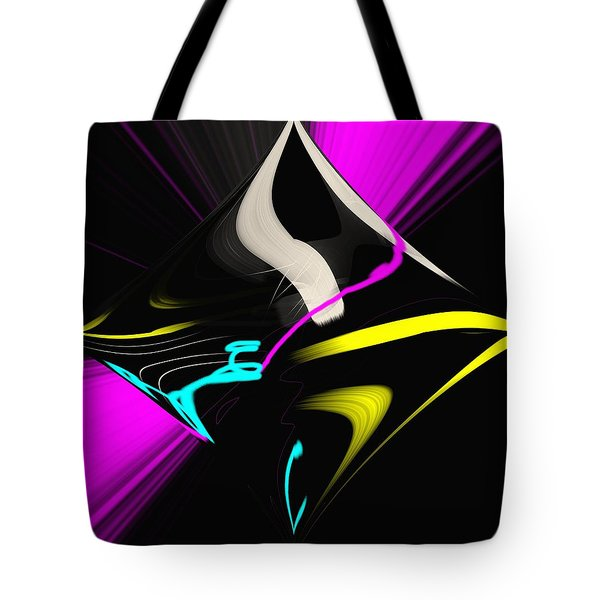Tote Bag featuring the photograph Black Diamond by George Pedro