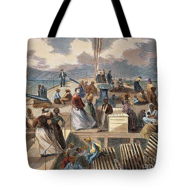 Black Emigrants, 1867 Tote Bag