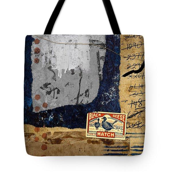 Black Geese Tote Bag