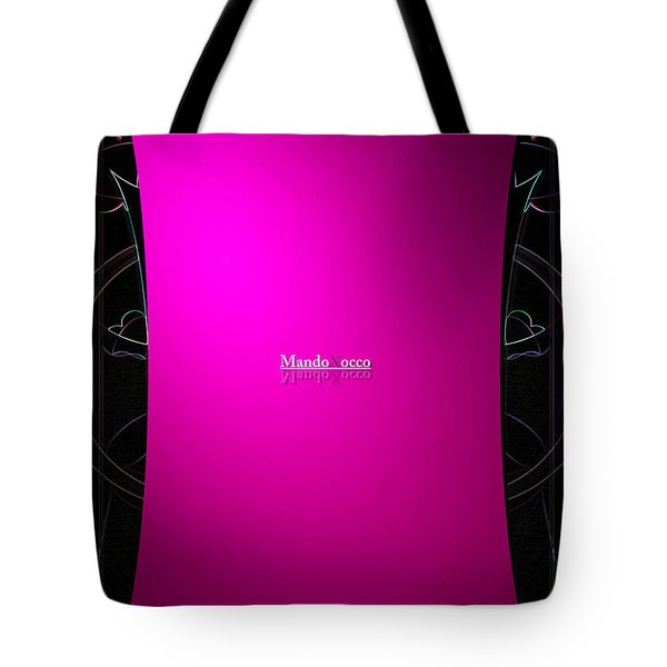 Black Pink Tote Bag