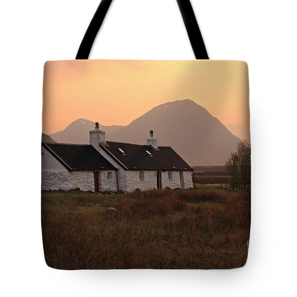 Black Rock Cottage Sunset Tote Bag