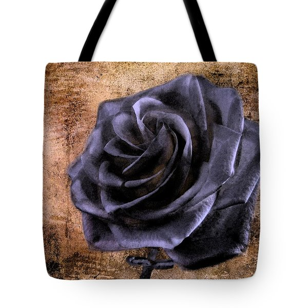 Black Rose Eternal   Tote Bag by David Dehner