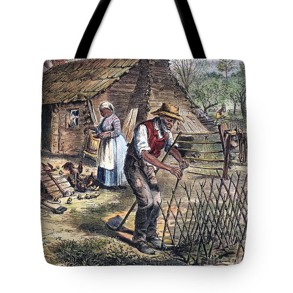 Black Sharecroppers, 1870 Tote Bag
