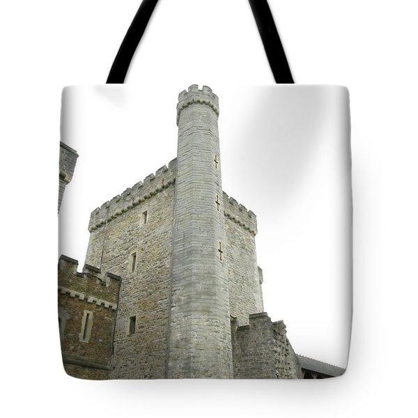 Black Tower Tote Bag
