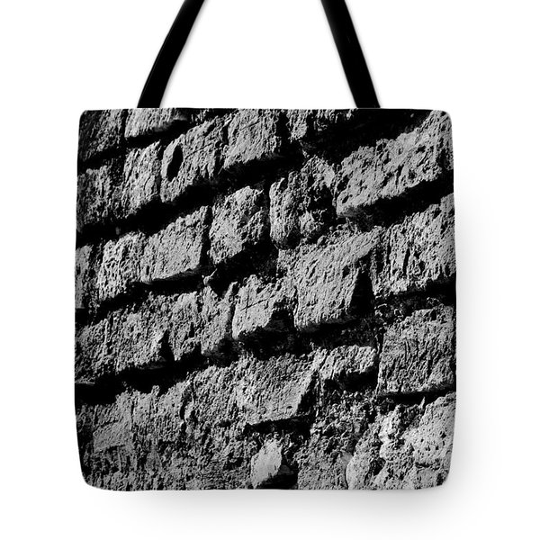 Black Wall Tote Bag