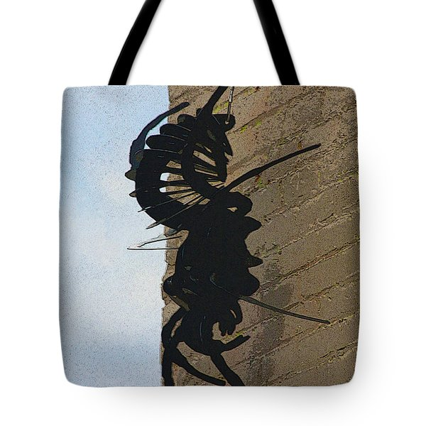 Black Widow Spider Art Tote Bag by Karon Melillo DeVega