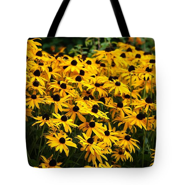 Blackeyed Susan Tote Bag by Joe Faherty