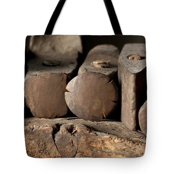 Blacksmith  Hammers Tote Bag