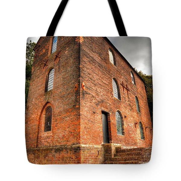 Blast Furnaces 1830s Tote Bag by Adrian Evans