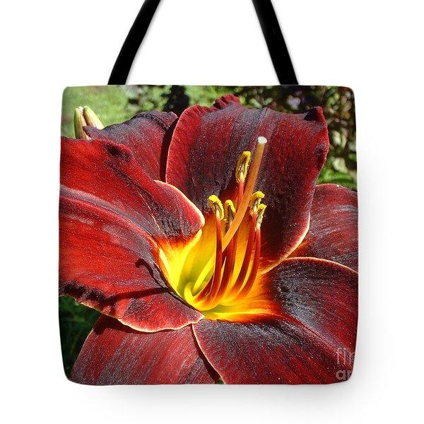 Bleeding Beauty Tote Bag