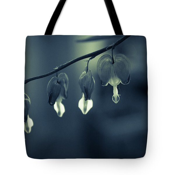 Bleeding Heart Tote Bag by Andreas Levi