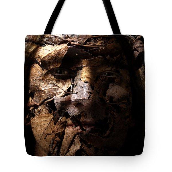 Blending In Tote Bag by Christopher Gaston