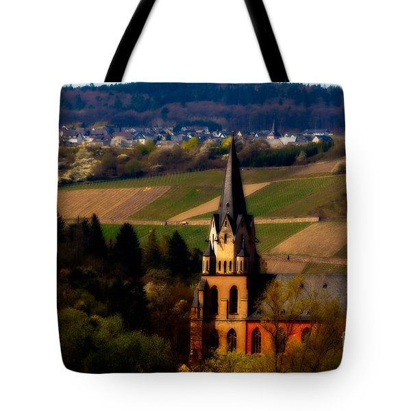 Blessed Vineyard Tote Bag by Jill Smith