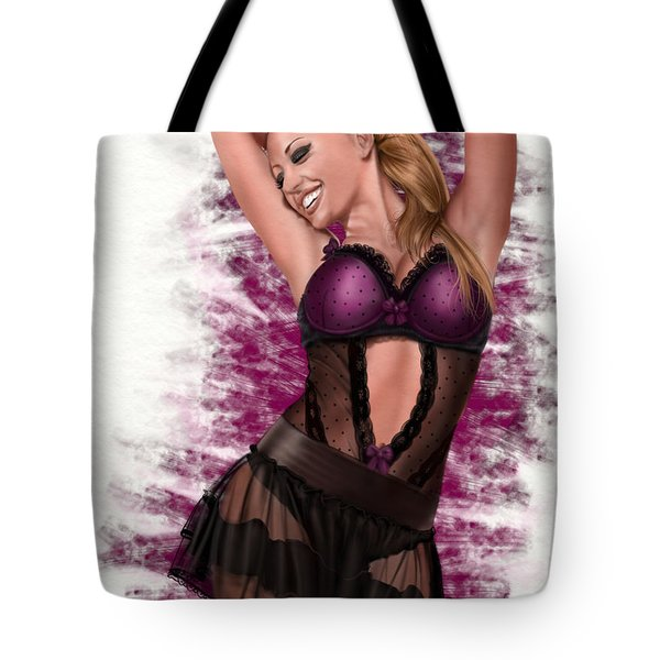 Bliss Tote Bag by Pete Tapang