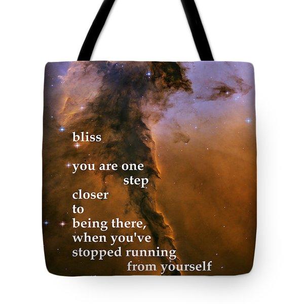 Bliss Tote Bag by Richard Donin