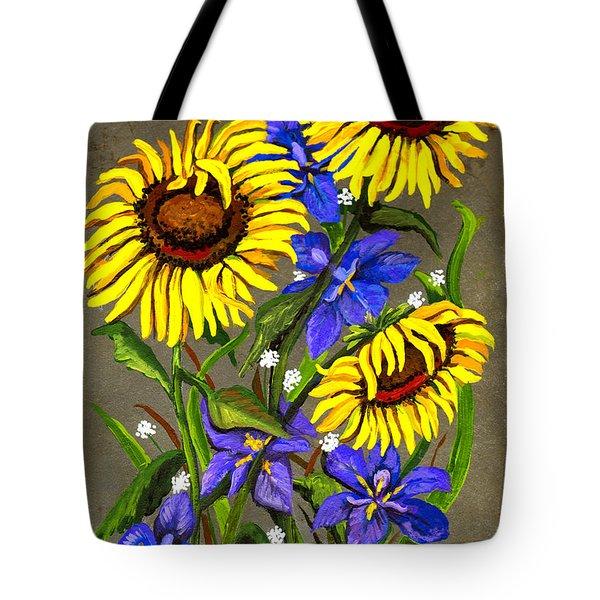 Bloom Tote Bag by Elaine Hodges