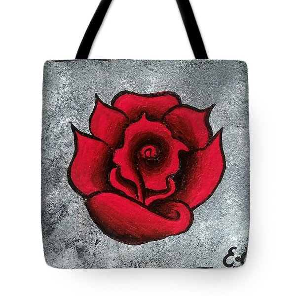 Blooming Beauty Tote Bag by Oddball Art Co by Lizzy Love
