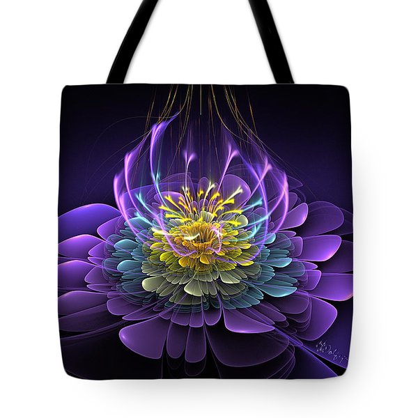 Blooming Essence Tote Bag