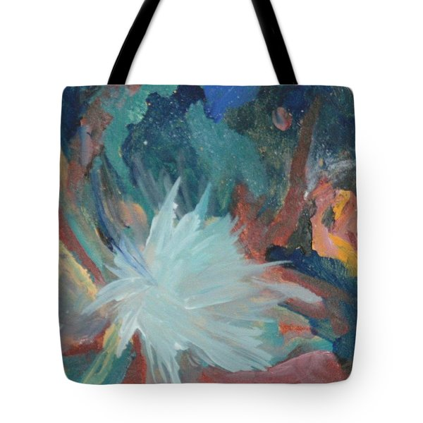 Blooming Star Tote Bag