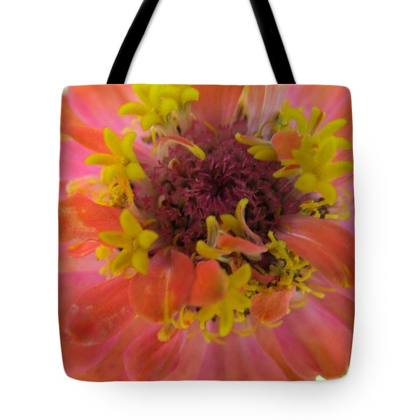 Tote Bag featuring the photograph Blooming Within by Tina M Wenger