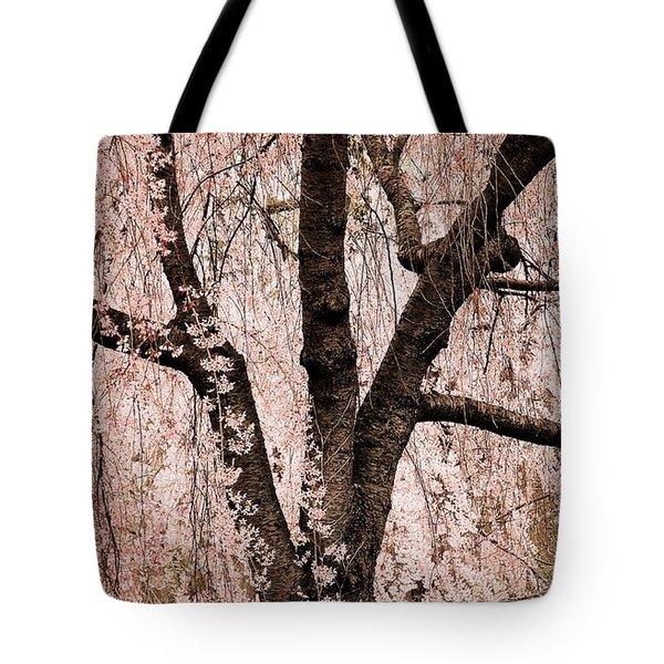 Blossom Rain Tote Bag