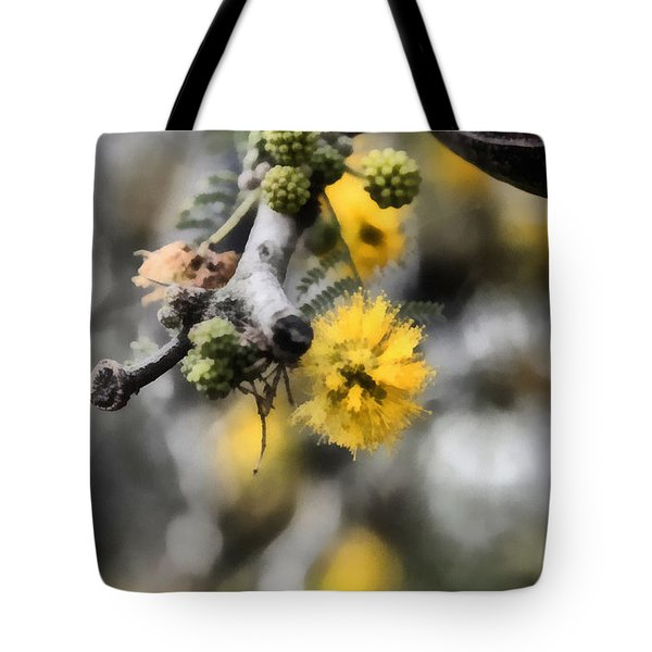 Tote Bag featuring the photograph Blossoming Tree by Michael Goyberg