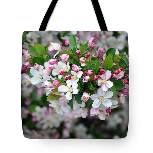 Tote Bag featuring the photograph Blossoms On Blossoms by Dorrene BrownButterfield