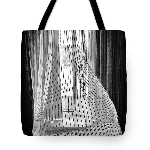 Blowing In The Ac Wind Tote Bag by Jim Moore