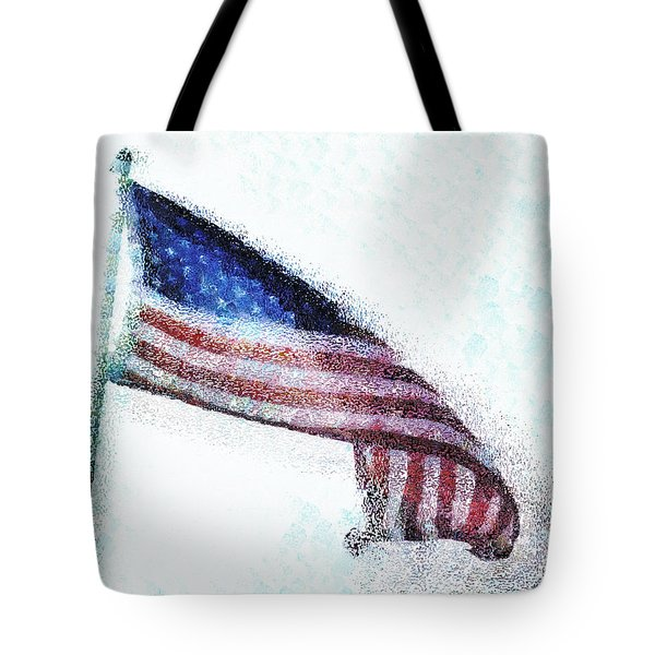 Blowing In The Wind Tote Bag by Steve Taylor